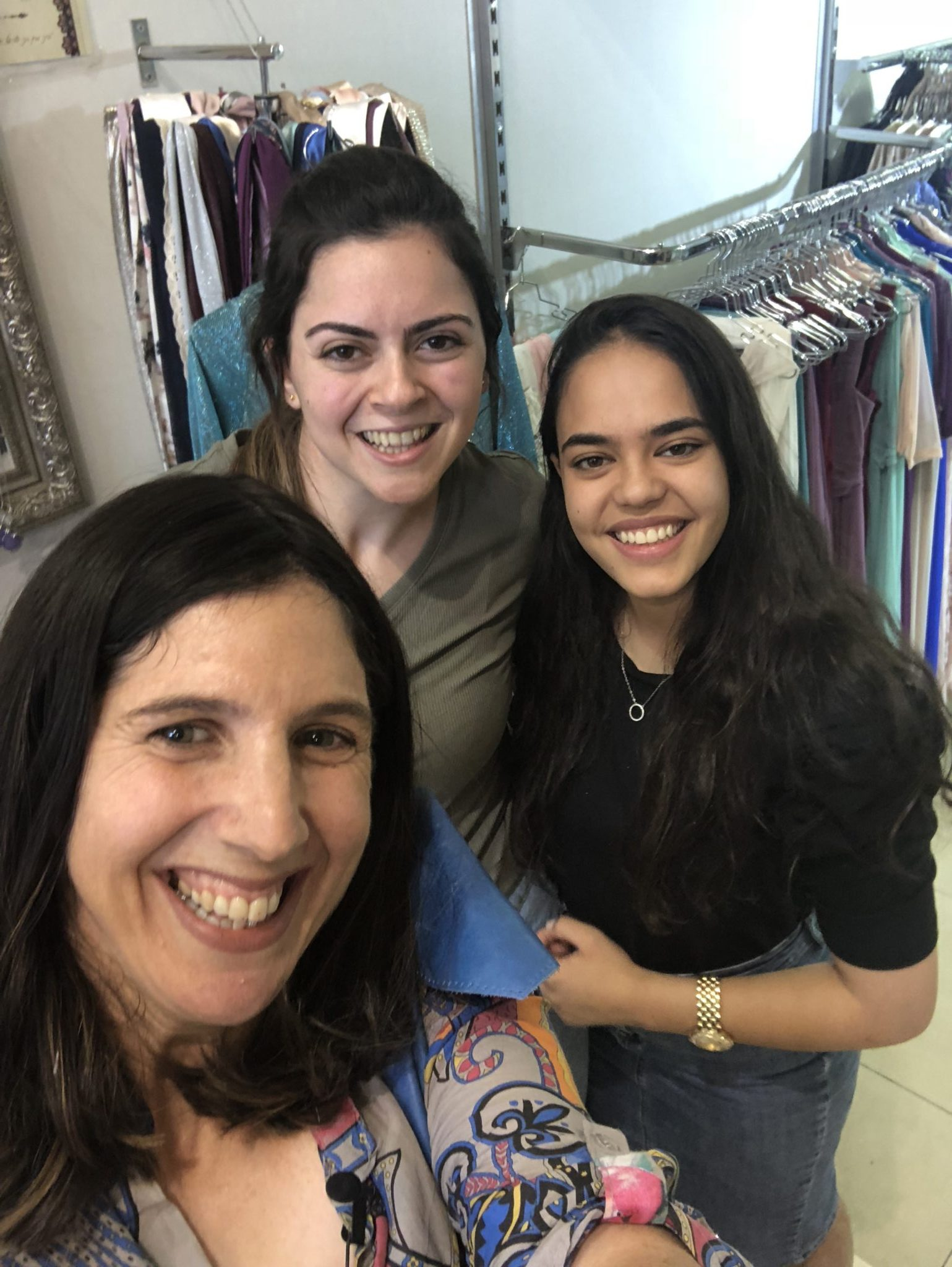 Bat Mitzvah Dress Shopping with High Energy Mom