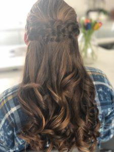 Hana's Hair Design - Bat Mitzvah Girl