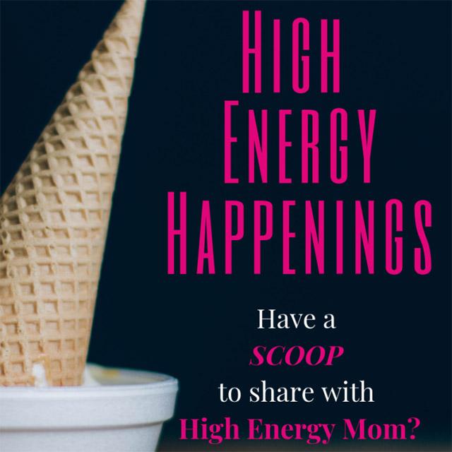High Energy Happenings November 12 – November 18, 2018